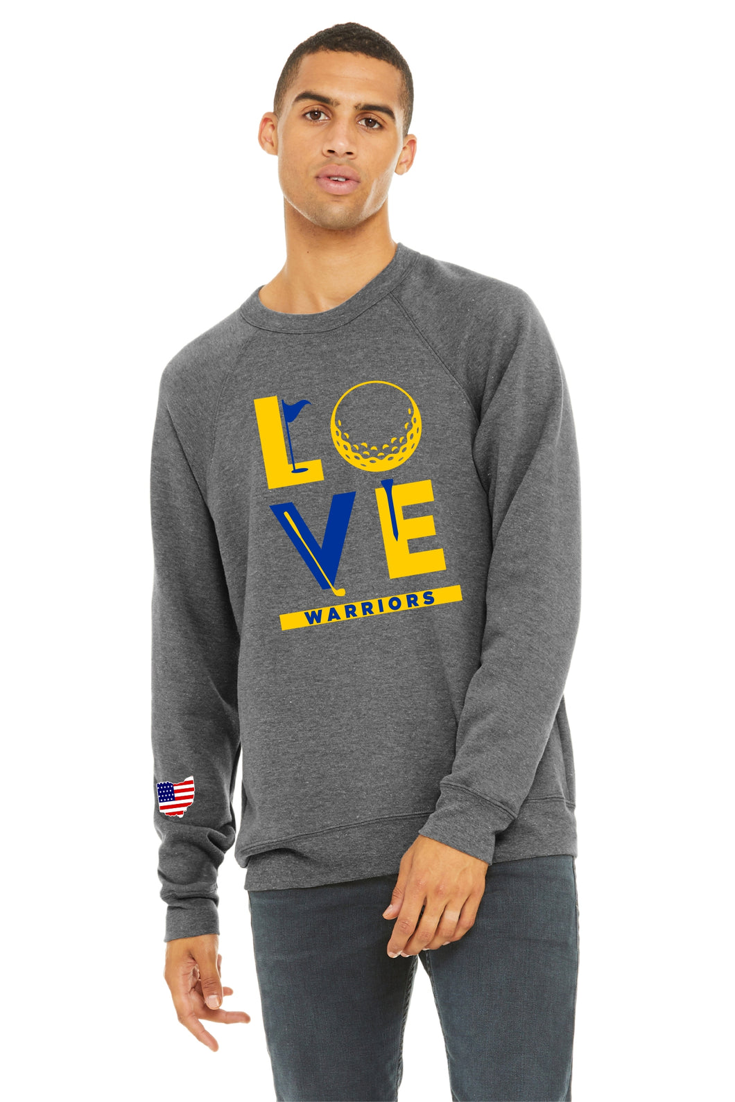 Golf Love Crew Neck
