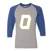 Load image into Gallery viewer, Block O Raglan Unisex