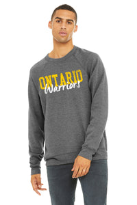 Ontario Warriors Gray Crew Unisex