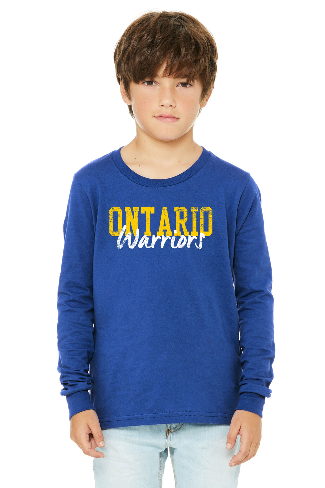 Ontario Warriors Long Sleeved Youth
