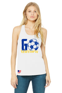 Soccer Go Warriors Racerback Tank