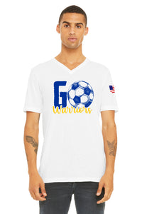 Soccer Go Warriors V Neck