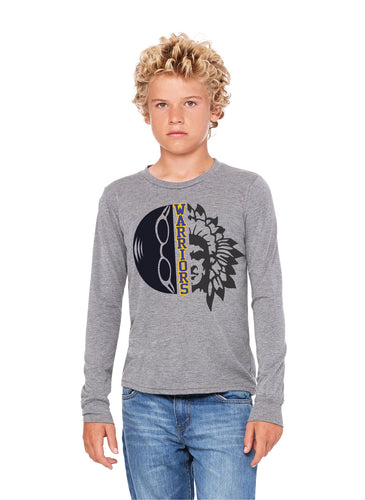 Swimming Warrior Head Long Sleeved Youth
