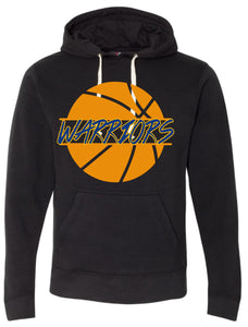 Basketball Warriors Ball Hoodie Unisex
