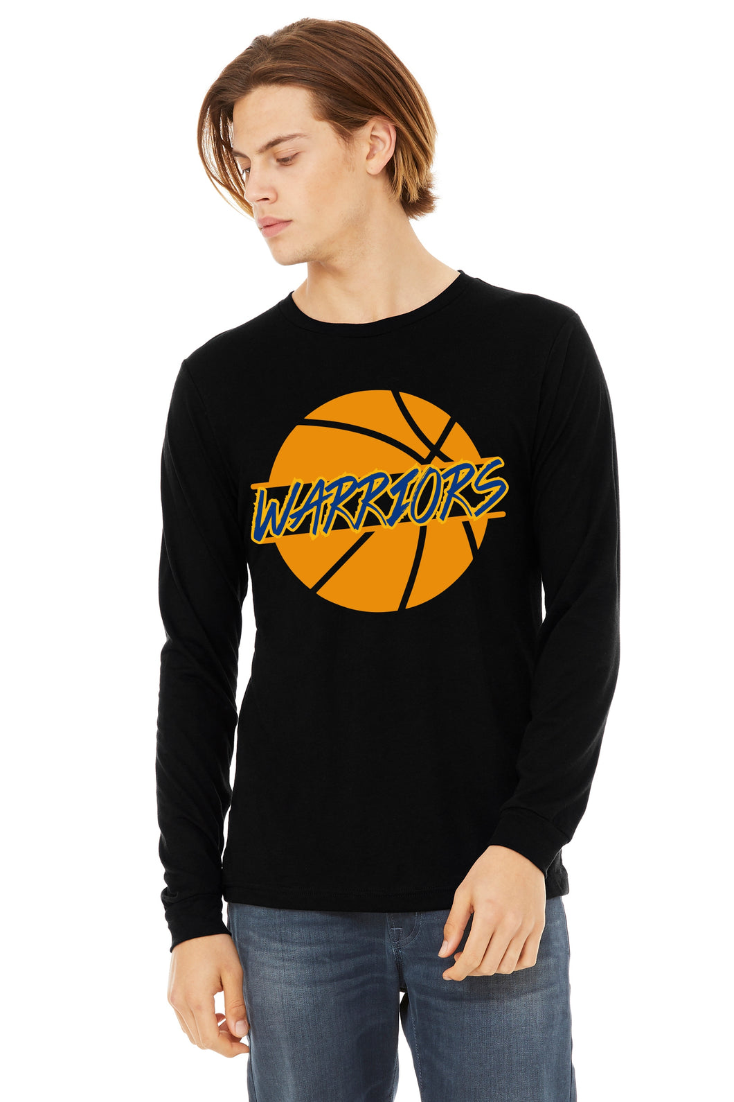 Basketball Warriors Ball Long Sleeved Unisex