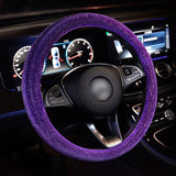 Luxury Crystal Steering Wheel Covers - Crypto Chilly