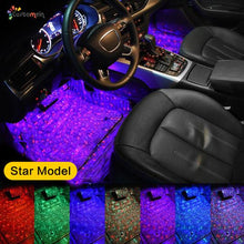 Load image into Gallery viewer, Multi-color Car Interior LED Under Dash Ambient Lights Kit