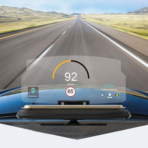Phone GPS Universal Head-Up Display