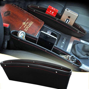 2Pcs Leather Car iPocket