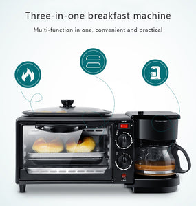 3 In 1 Electric Breakfast Machine