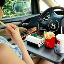 Load image into Gallery viewer, Steering Wheel Tray for Laptop & Food