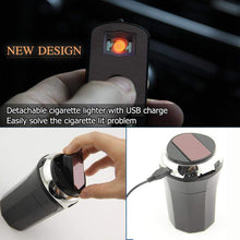 Load image into Gallery viewer, Car Ashtray With Cigarette lighter