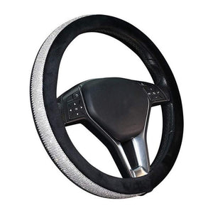 Mosaic Drill Car Steering Wheel Cover