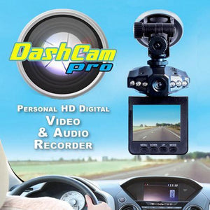 2.5-inch HD Vehicle DVR with Night Vision