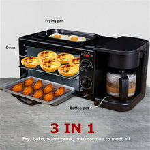 Load image into Gallery viewer, 3 In 1 Electric Breakfast Machine