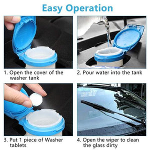 Instant Windshield Washer Tablet
