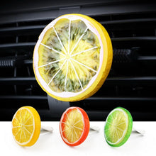 Load image into Gallery viewer, Car Air Freshener Cool Lemon Fruit Slice