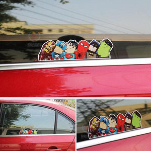Avengers Car Sticker
