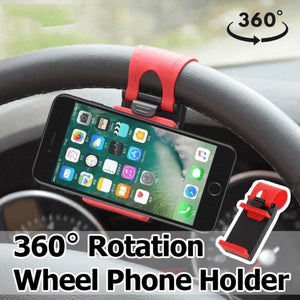 Car Steering Wheel Phone Holder