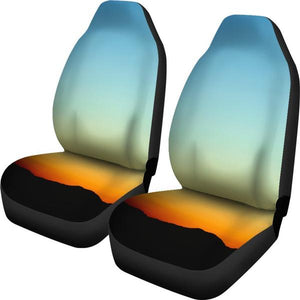 Sunset Car Seat Cover