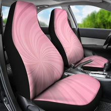 Load image into Gallery viewer, Pink Spiral Seat Cover