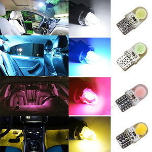 Turn Light/License Plate Bulbs - Super Bright (5 Colors) 6pcs