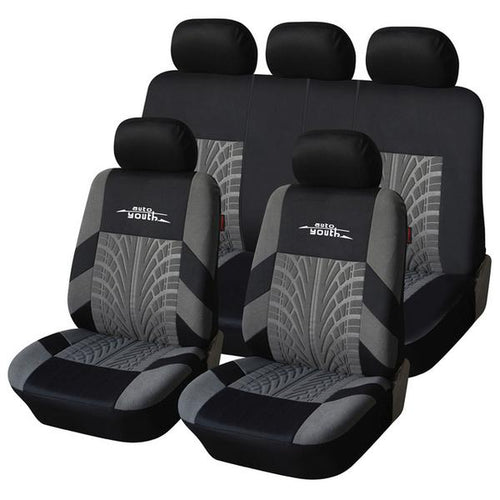 Tire Track Fashioned Car Seat Covers
