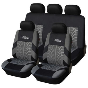 Track Fashioned Car Seat Covers