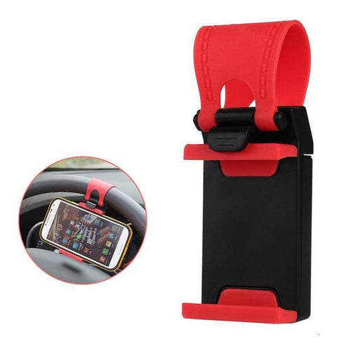 Steering Wheel SmartPhone Holder