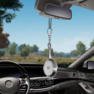 Pan Rear View Mirror Hanging Accessory