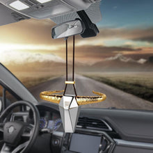 Load image into Gallery viewer, Zinc Alloy Horn Rear View Mirror Hanging Accessory