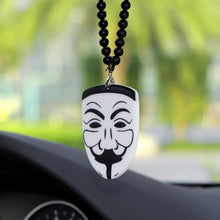 Load image into Gallery viewer, Anonymous Mask Rear View Mirror Hanging Accessory