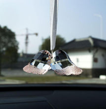 Load image into Gallery viewer, Crystal Angel Wing Rear View Mirror Hanging Accessory