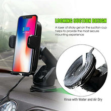 Load image into Gallery viewer, Automatic Wireless Car Mount Charger