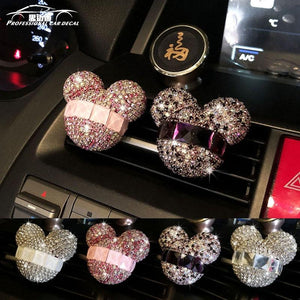 Stylish Women Perfumes Car Air Freshener Crystal Look