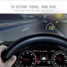 Load image into Gallery viewer, HUD OBD 2 CAR WINDSHIELD PROJECTOR SPEEDOMETER - UPGRADE YOUR RIDE!