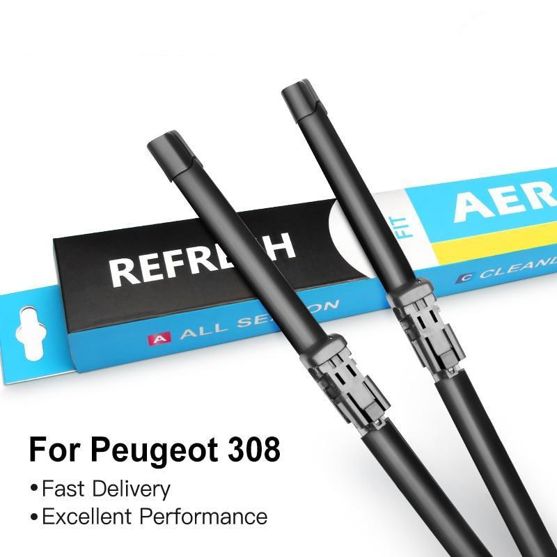 Wiper blades for Peugeot