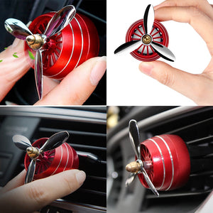 #1 Car Air Freshener Smell LED Mini Conditioning