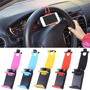 Steering Wheel Phone Socket Holder
