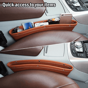 Leather Car Storage Bag