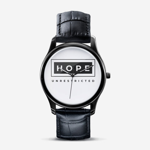 Hope Unrestricted Black Quartz Watch