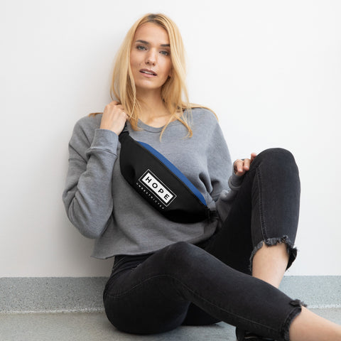 HOPE UNRESTRICTED Fanny Pack (Black/Royal)