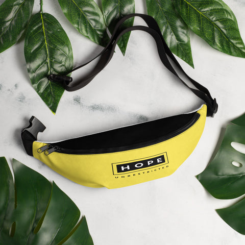 HOPE UNRESTRICTED Fanny Pack (Yellow/Black)