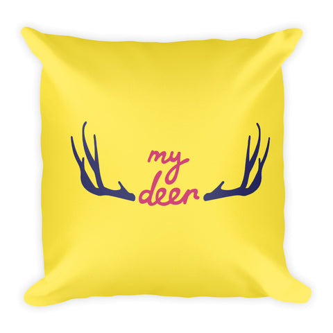 Oh My Deer Throw