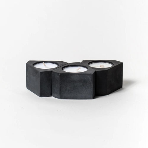 Tealight/Taper Holders (Solid Black)