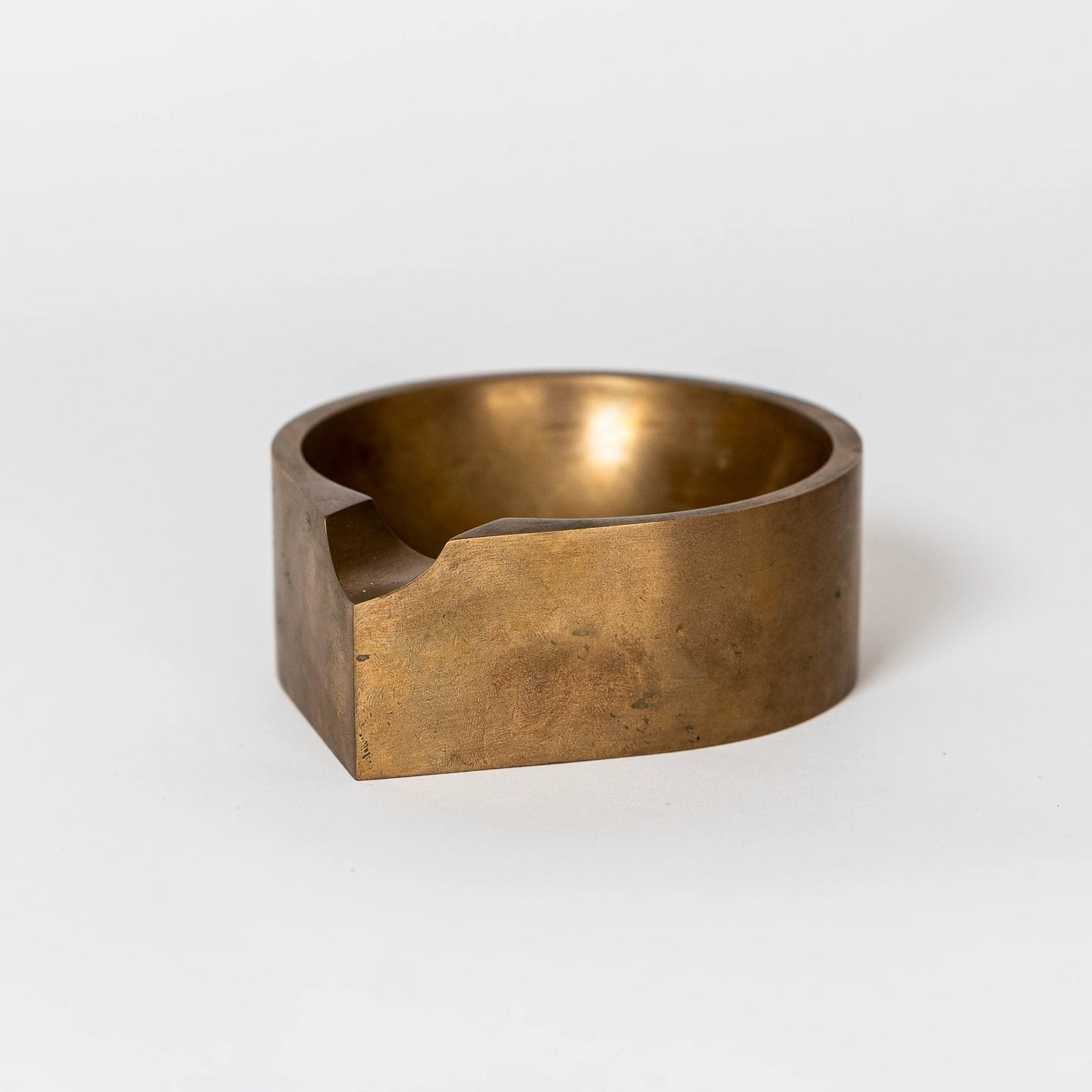 Solid Bronze Ashtray