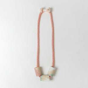 Concrete + Cotton Necklaces