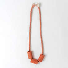 Load image into Gallery viewer, Concrete Terrazzo + Cotton Necklaces