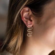Load image into Gallery viewer, Squiggle Earrings 2.0