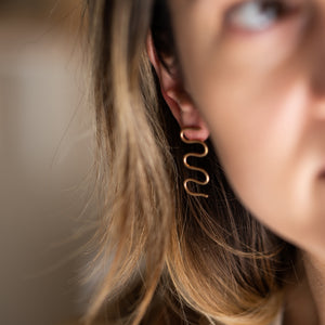 Squiggle Earrings 2.0
